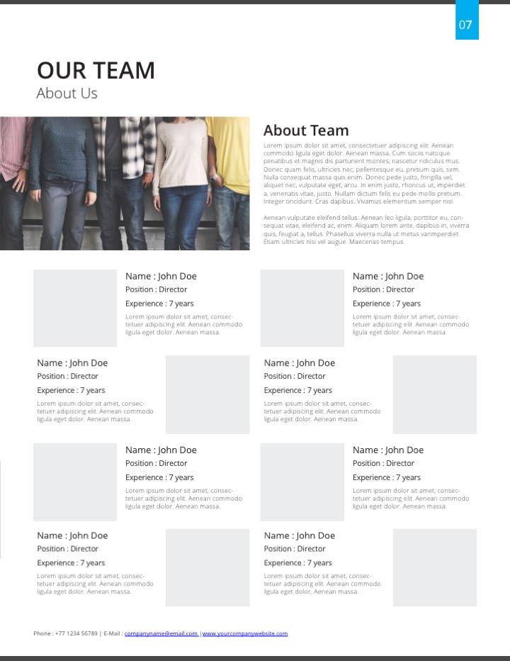 Proposible Com Proposal Templates Web Design Proposal Template